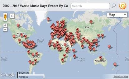 2013 World Music Days